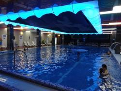 Inside Pool Hotel President Baile Felix