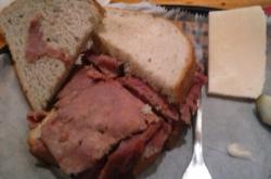 My pastrami sandwich