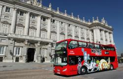 Hop On/Hop Off Bus Tour Madrid