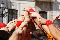 Tarragona Human Tower Competition