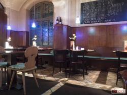 Restaurant Bar Glasmalerei