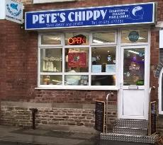 ‪Pete's Chippy/ Restaurant‬