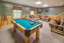 Man cabins include game rooms for plenty of family fun