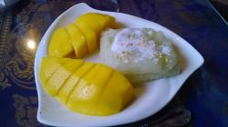 Mango and Sweet Sticky Rice