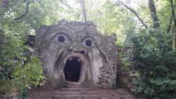 Parco dei Mostri: Bocca della Verità