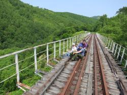 Old Railway Yuzhno-Sakhalinsk to Kholmsk