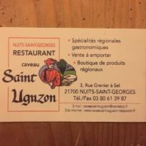 Le caveau Saint Uguzon