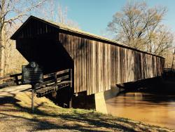 Big Red Oak Creek Covered Bridge