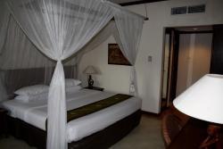 Slaapkamer met royale bedden