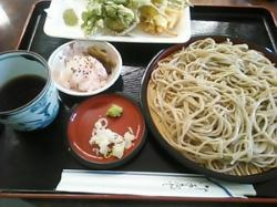 Homemade Soba Hanabusa