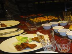 The food...