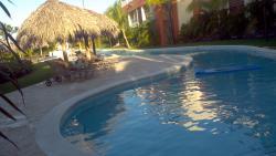 Quiet pool near bldg 1