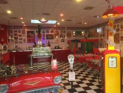America Graffiti Diner Restaurant Ivrea