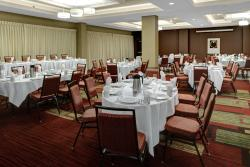The Grand Ballroom at the Courtyard in St Cloud can host up to 292 guests.
