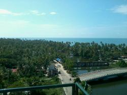 View from Light House near the Beach.