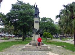 Praça Santos Andrade