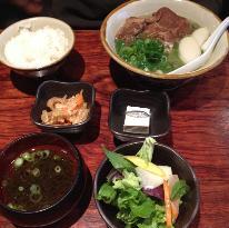 Okinawan cuisine to Awamori Koshu Nuchikugusui