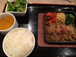 Korean Food Saja Garden Odori chikagai