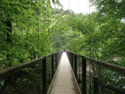 Mikaeri Suspension Bridge