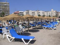 Playas Santa Pola Sombrillas