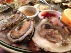Oysters and fish!