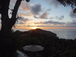 Sunset at La Mariposa