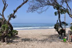 Tolle Strandatmosphäre