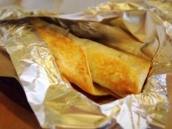 Manager recommended that Toast tortilla of beef burrito. Really delicious and crispy!! Love this