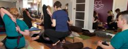 Students receive support to deepen their inner connection and understanding of their body.