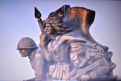 Monument to Marine Troopers