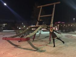 The World's Largest Kick Sled