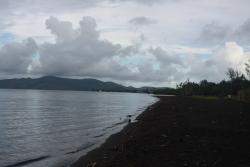 Rawis Black Beach