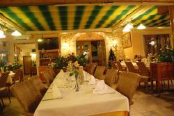 Interior of restaurant Pavel