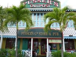 Pusser's outpost.