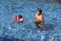 2.5 km pool