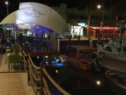 Nice setting, Good food, slow service -- Marina Fiesta
