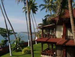 Resort with beach view