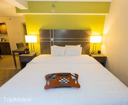 The One Bedroom King Junior Suite at the Hampton Inn Myrtle Beach - Northwood