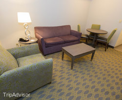 The One Bedroom King Suite at the Hampton Inn Myrtle Beach - Northwood