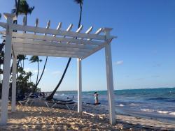 Beach of the resort