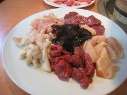 Ganso Variety meat ( Horumonyaki) Wakitaya Tsu