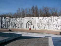 Monument to the Soldiers of the Great Patriotic War, Eternal Flame