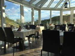 Inside main upstairs dining room of  Restaurant Varma