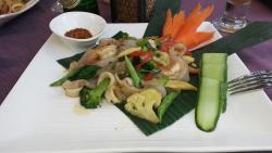 Shrimps & Squid Salad