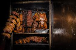 one of  our meat smoker