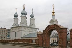 Temple Complex. Church of the Nativity and Boris and Gleb