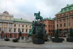 Gustav II Adolfs Statue