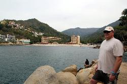 View from the rocks