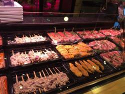 خلاصة قول : جنة المأكولات اسطنبول. وجنة مشويات اللحوم شازلي SAZELI