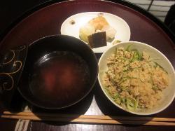 コース料理の一部